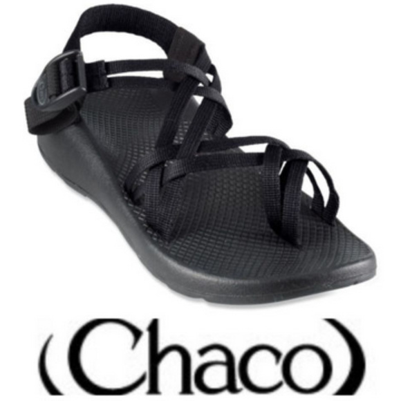 705232544dfe Chaco Shoes - CHACO ZX2 Yampa SANDALS Sz. 7 BLACK Strappy